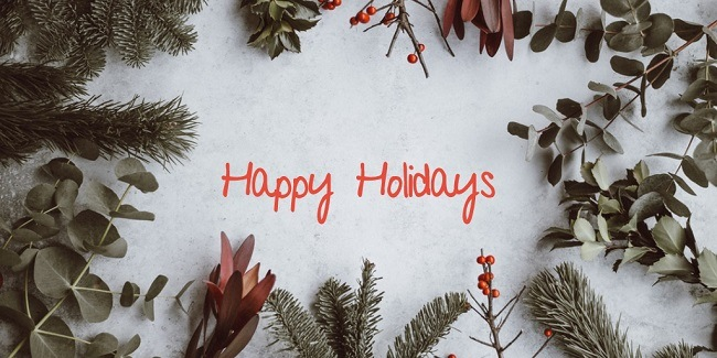 Happy Holidays 2018