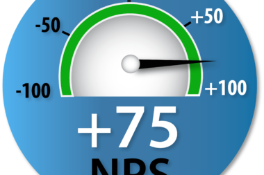 Dial with +75 NPS score